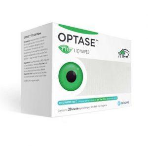 Optase Lid Wipes